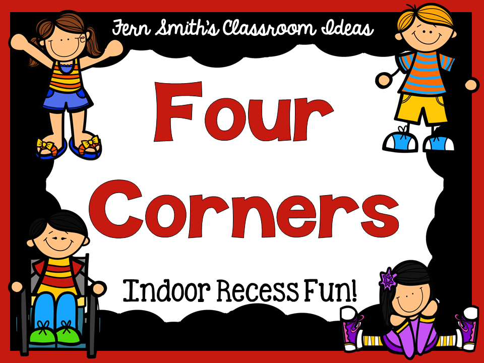 Fern Smith's FREE Four Corners Game Direction Printable