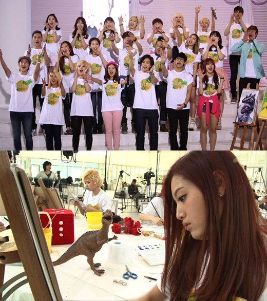 110 Idols Face Off For The Title Of Best Artist In The Korean Art Idol Competition Korean Art Best Artist Face Off