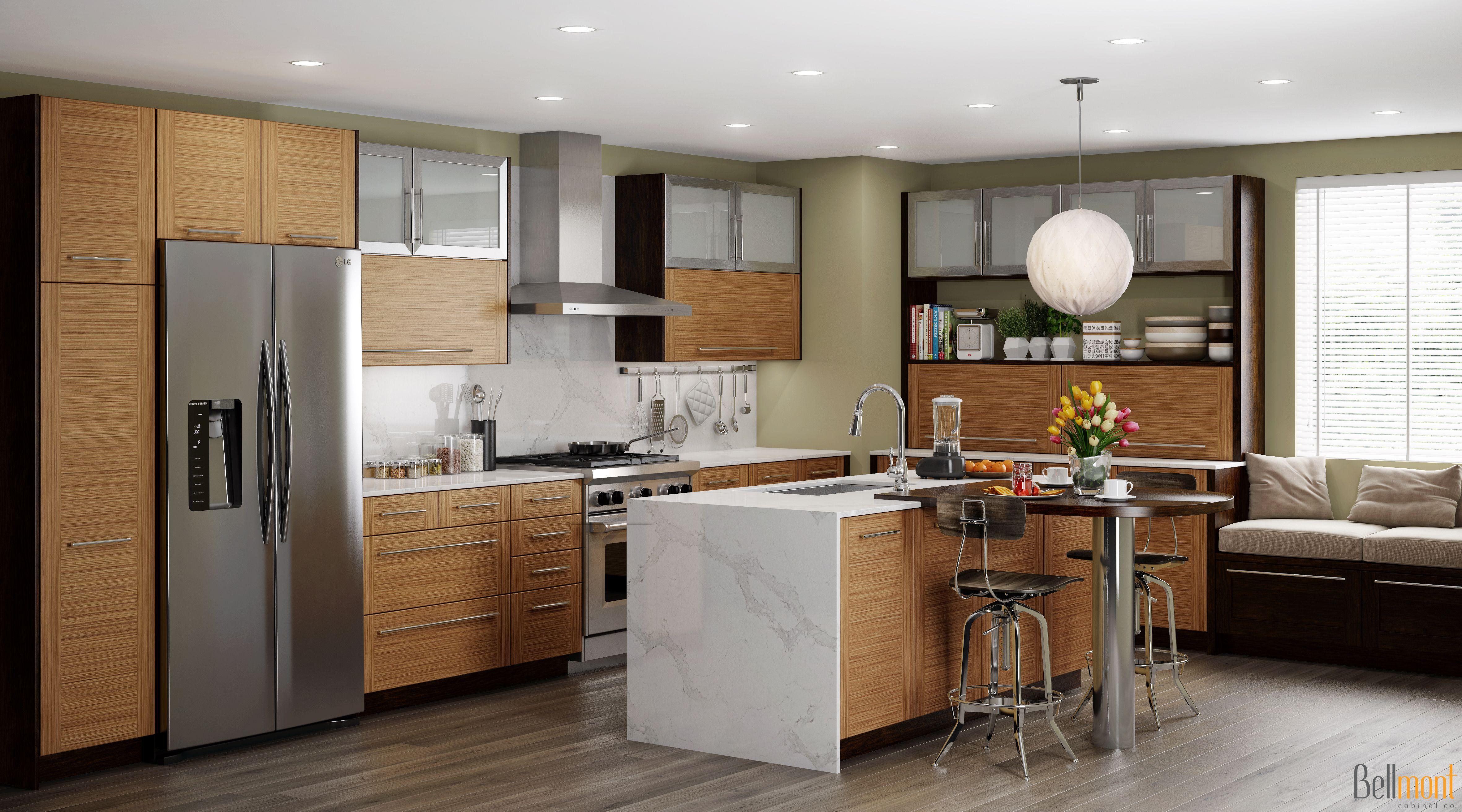 Nova Field Cherry Java Kitchen Gallery Contemporary Kitchen Modern Kitchen