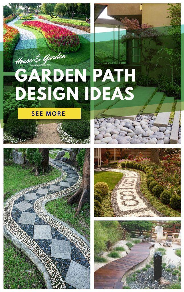 Photo of 21 Garden Path Ideas #garden #path #ideas #AndWalkways #Cheap #DIY