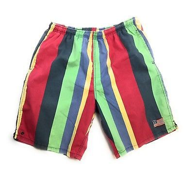 90s Volcom Surfer Skater Boardshorts Size 36 Sold As Is NE7RsjW31