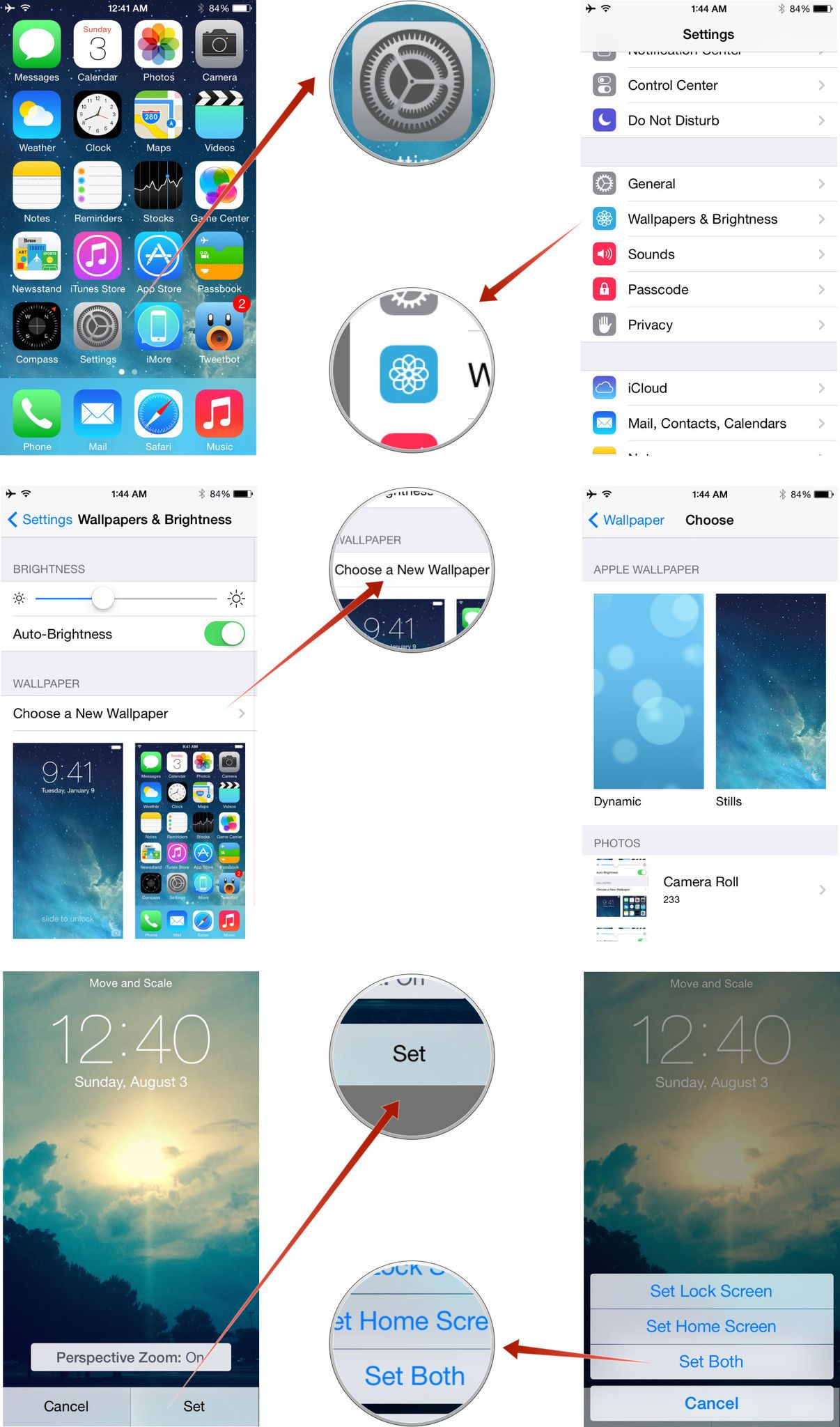 How To Set Your Ipads Background Wallpaper Wallpaper Iphone Quotes Iphone Wallpaper Wallpaper