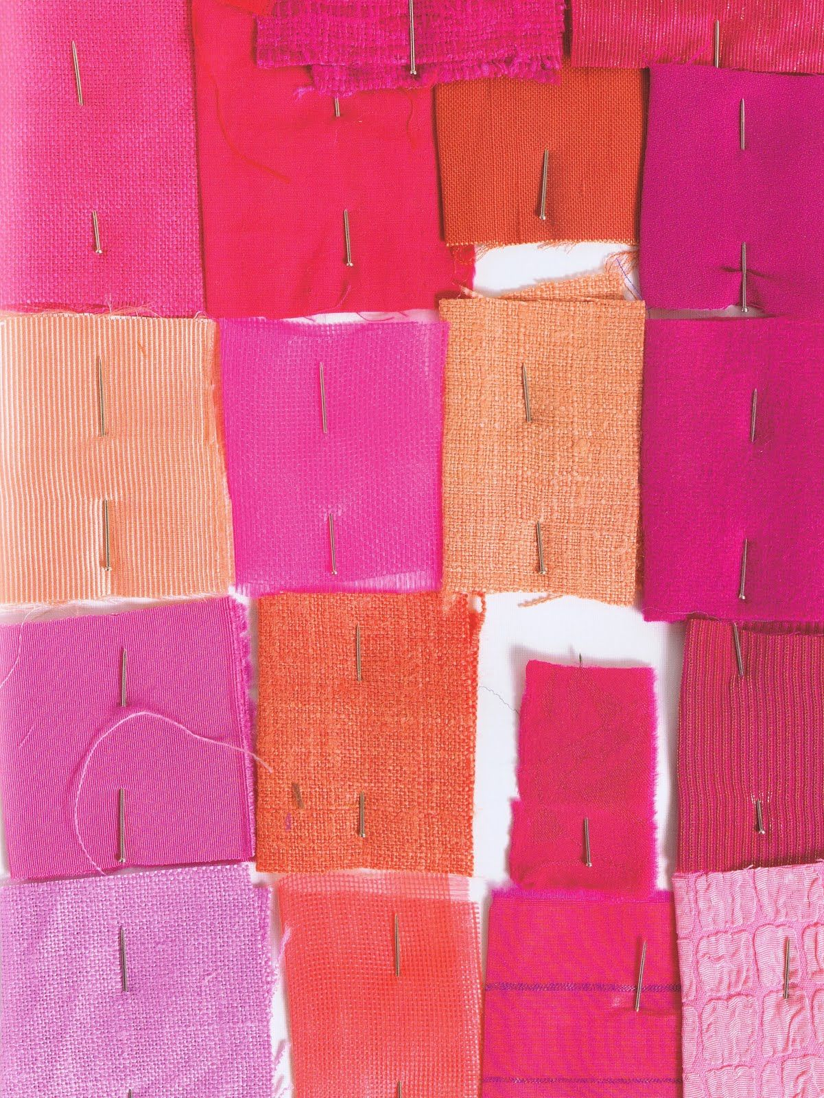 Orange And Pink Bedroom Swatches To Watch Color Lovers Pinterest Orange Pink
