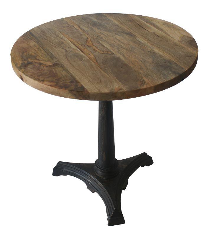 mesa redonda madera buscar con google