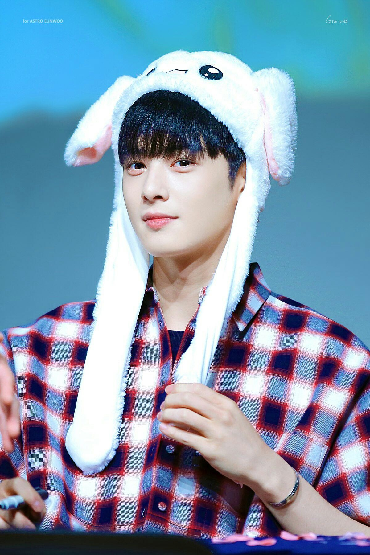 Cute Bunny Astro Eunwoo Photo C Twitter Com Grin With Ew