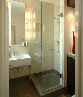 35 Baños pequeños y funcionales escaleras, pisos, cocinas, baños y - decoracion baos pequeos