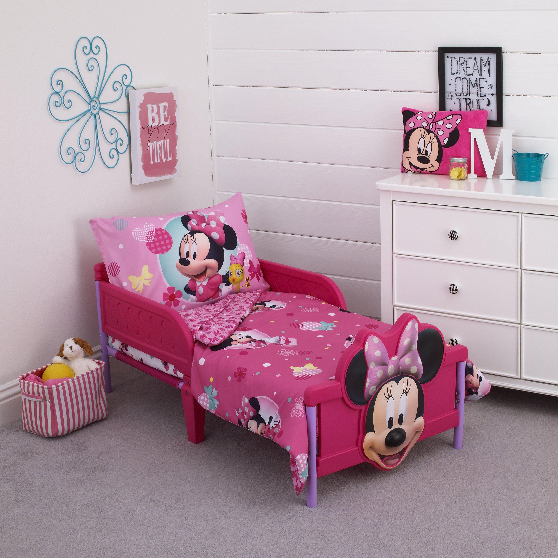 Minnie 4 Piece Toddler Bed Setminnie 4 Piece Toddler Bed Set Baby