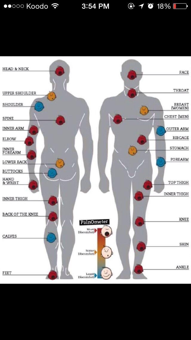 Tattoo pain tolerance various trusper tip also ings to remember pinterest tattoos rh
