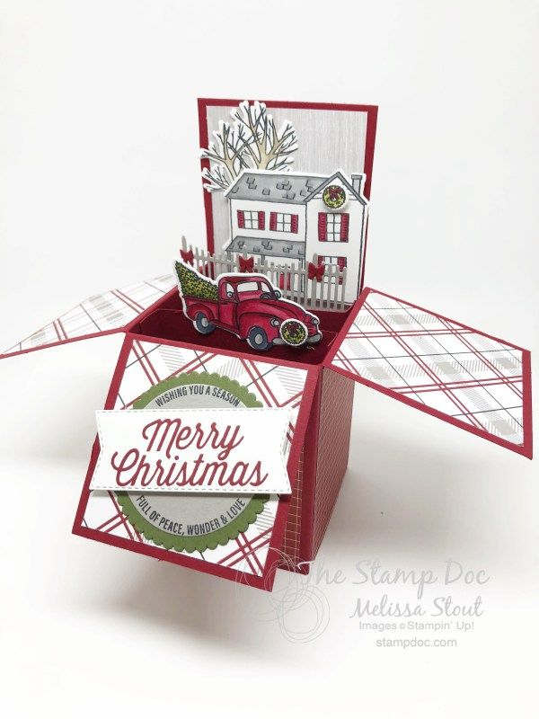 Monday Montage 123 Featuring More Holiday Box Cards | Cards ...