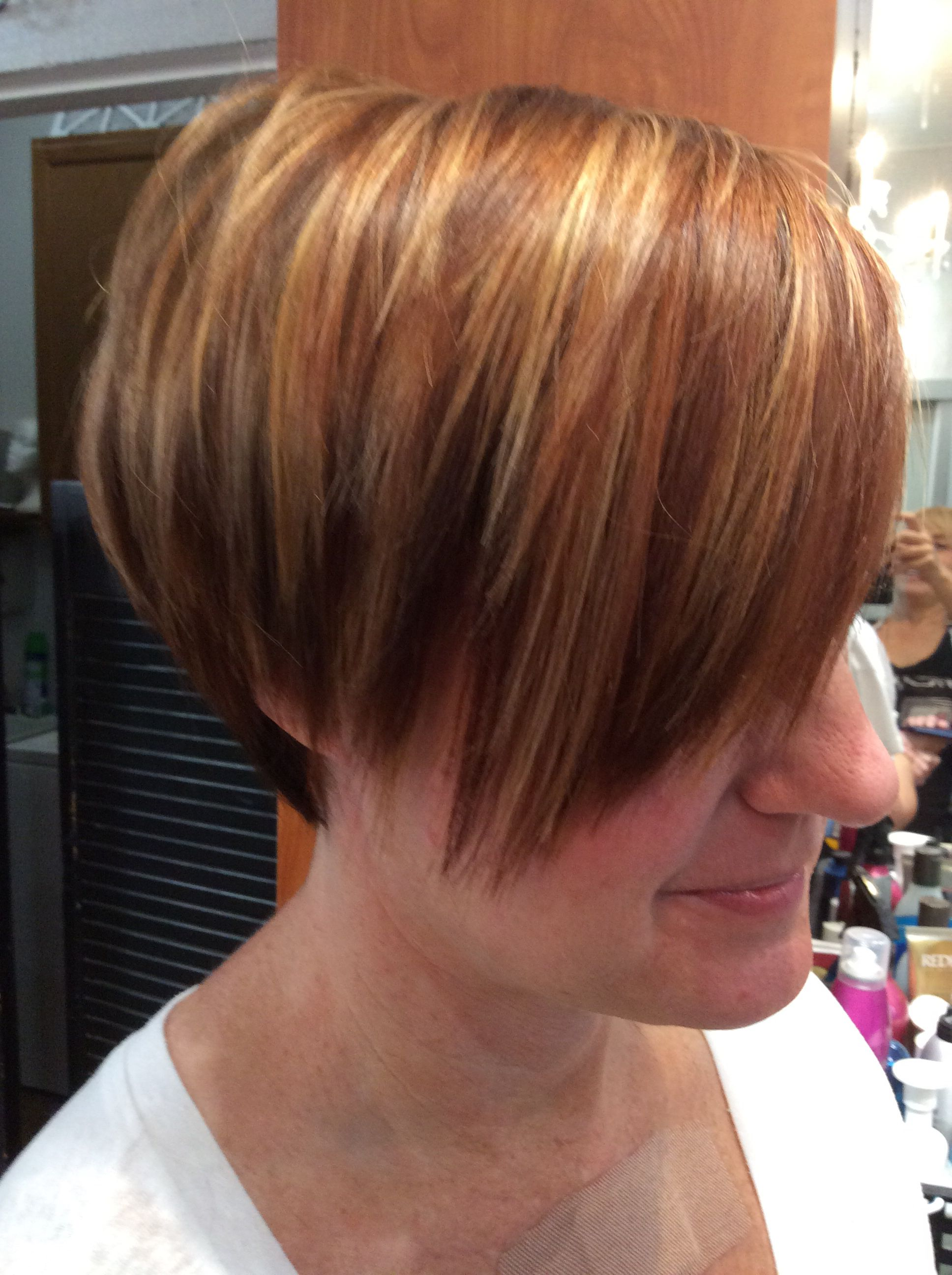 Pumpkin Spice Fall Hair Color Creationwith Goldwell Colors 5nn6nn