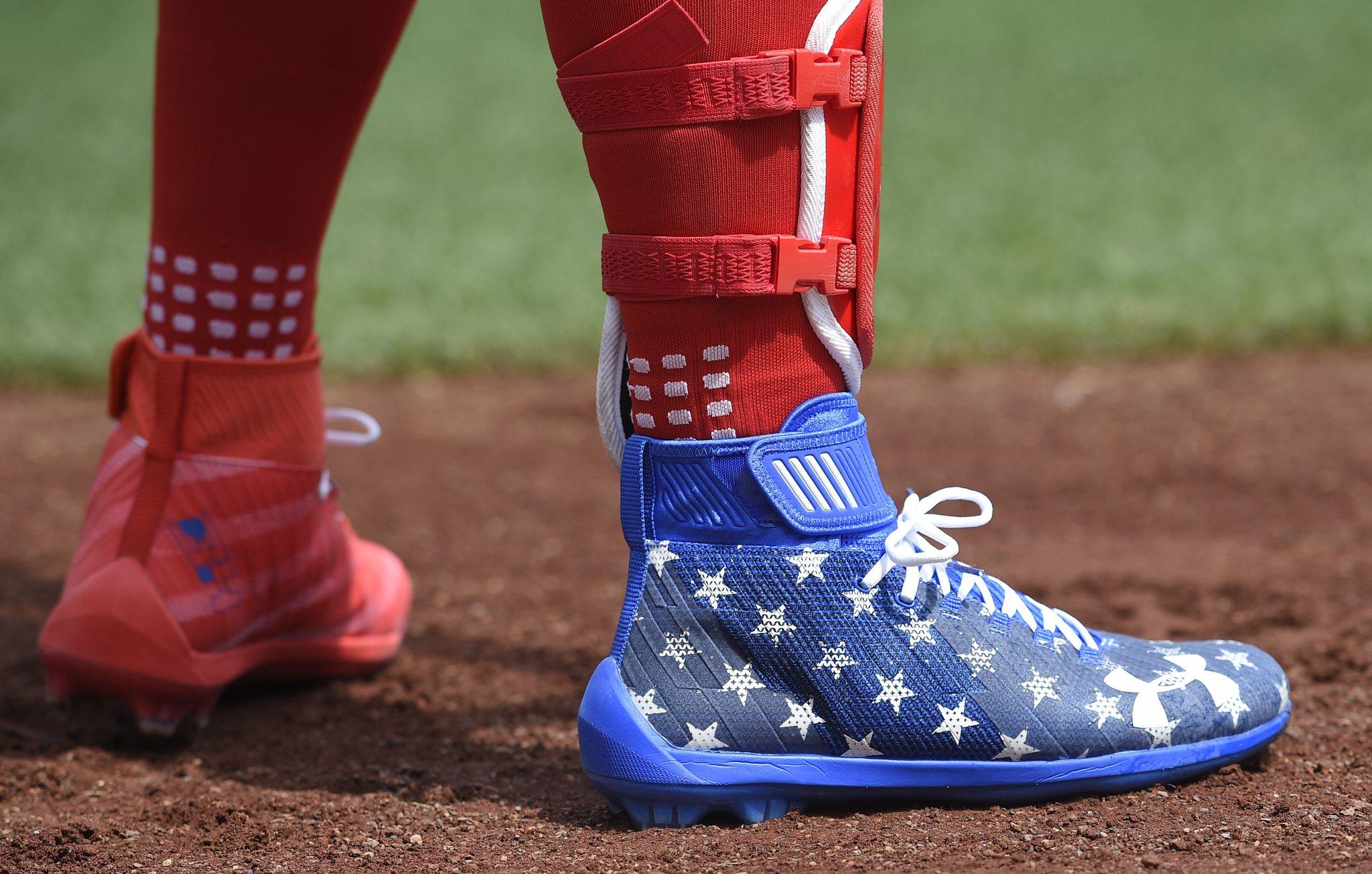 July 4th MLB Rubber rain boots, Rain boots, Boots