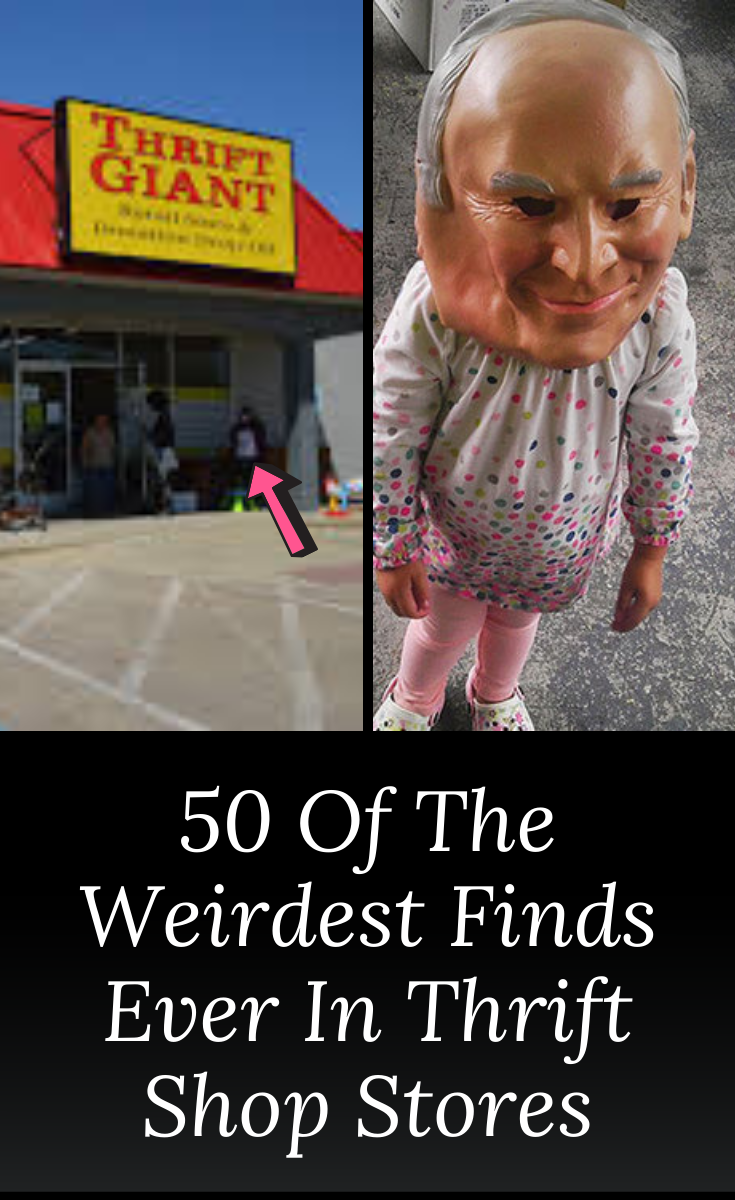 50 ridiculously weird thrift store finds that couldn't be