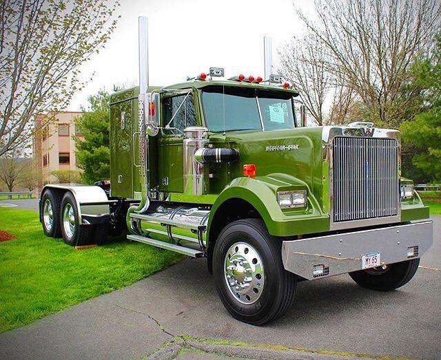 Western Star Custom Western Star Trucks White Western Star Big