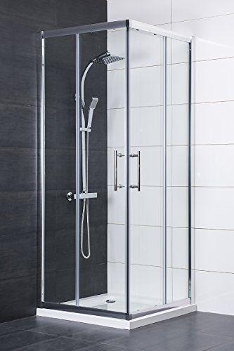 Aquariss 800 X 800mm Corner Entry Shower Enclosure Free Shower Tray Andamp Shower Tray Shower Enclosure Shower