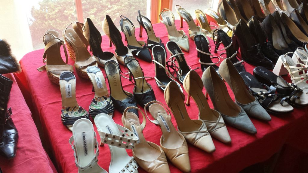Designer Shoes - Prada, Versace, Prada, Jimmy Choo