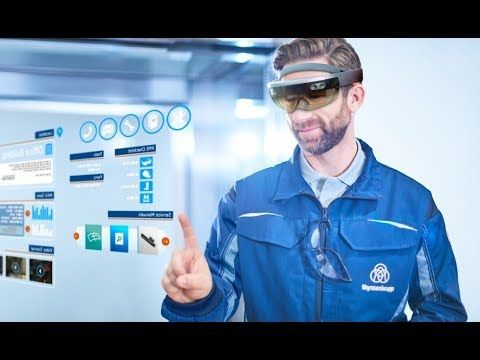 Thyssenkrupp AG - Mixed Reality with HoloLens - YouTube | hologram vr