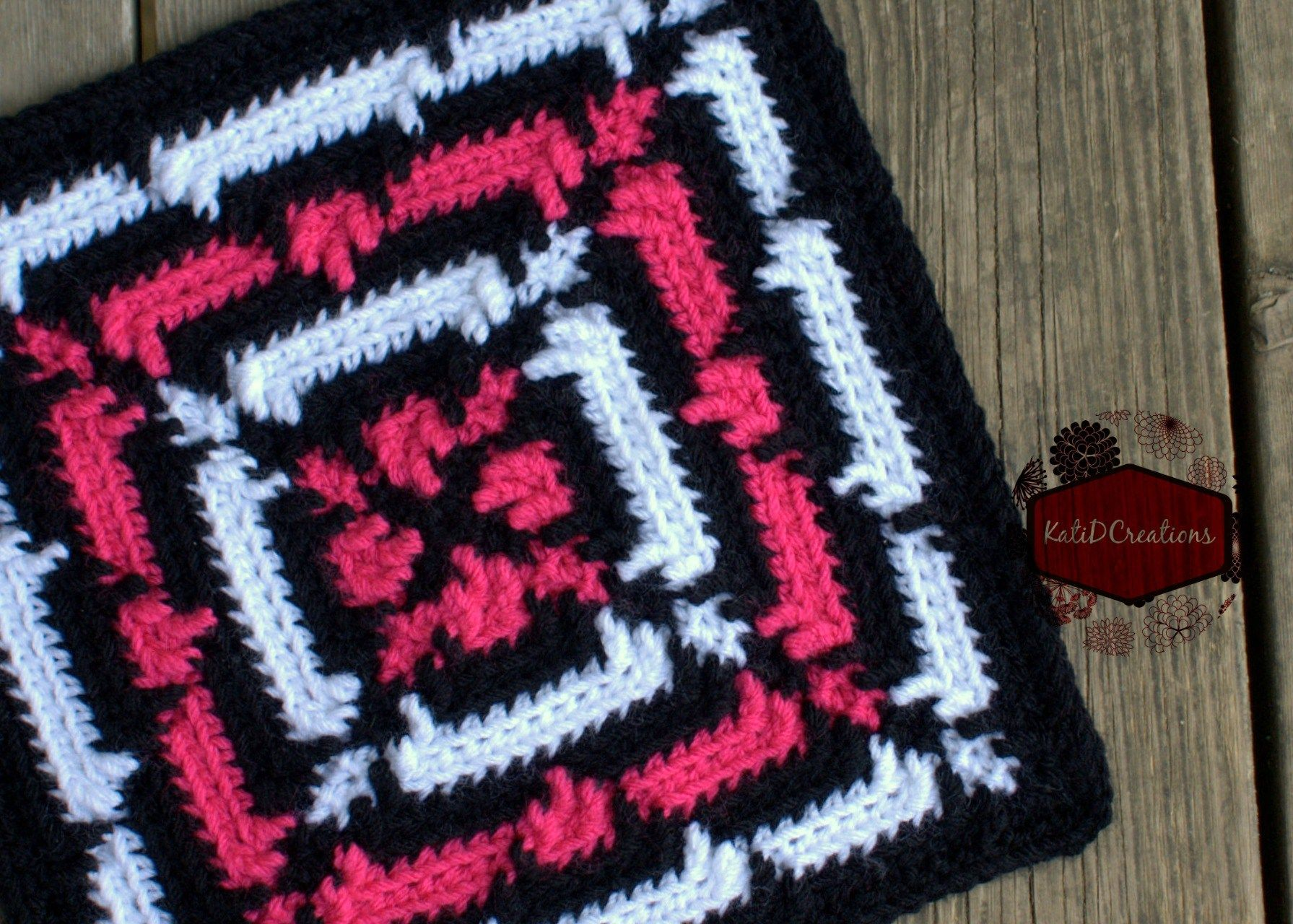 X marks the spot free 12 crochet square pattern from x marks the spot free 12 crochet square pattern from katidcreations bankloansurffo Image collections