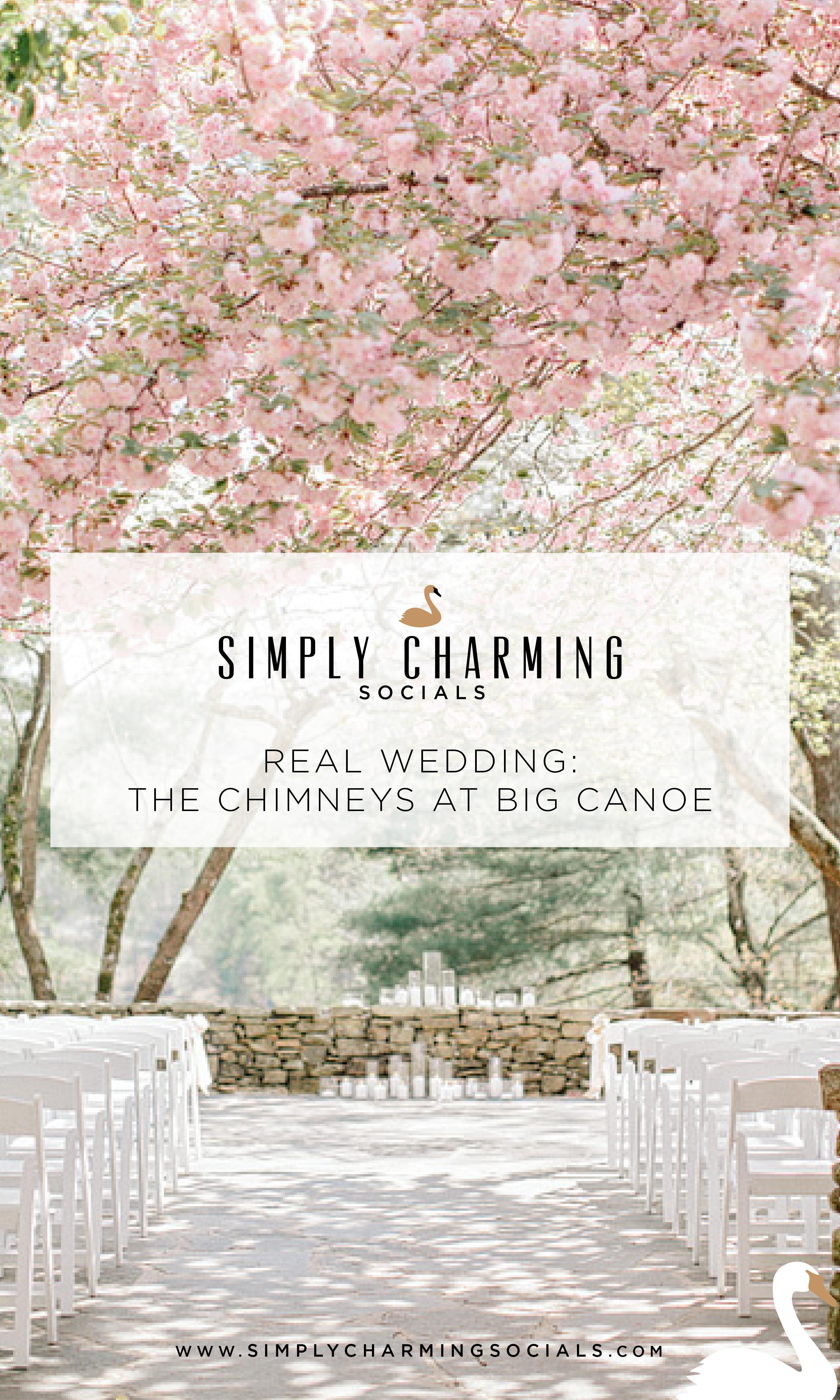 Real Wedding The Chimneys At Big Canoe North Georgia Simply