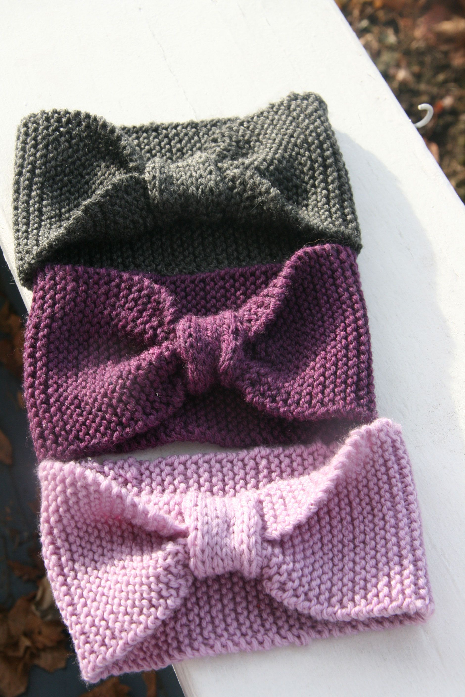 Headbands? Head Wraps? Also known as Earwarmers! | Knitted headband ...