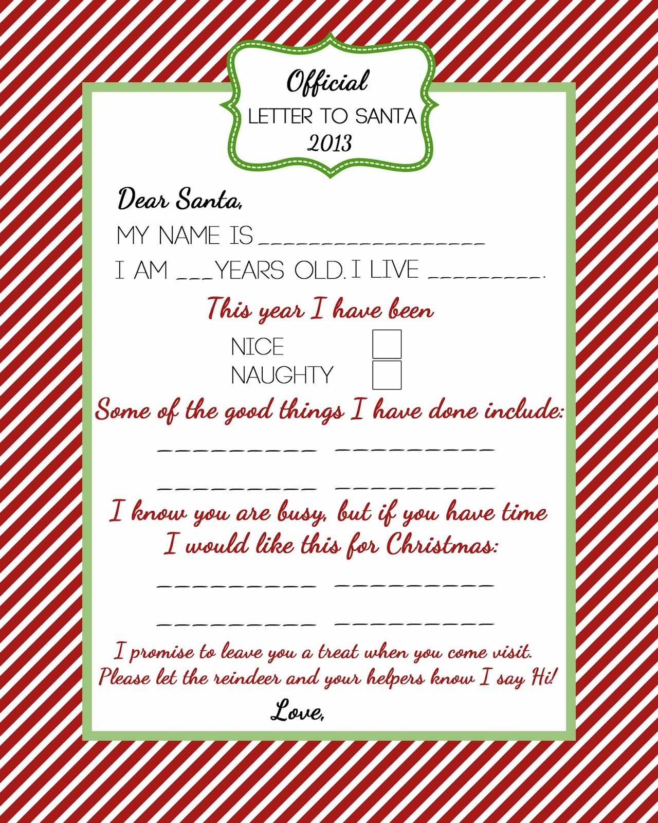 Official letter to santa for the hollydays pinterest santa christmas gifts official letter to santa spiritdancerdesigns Gallery