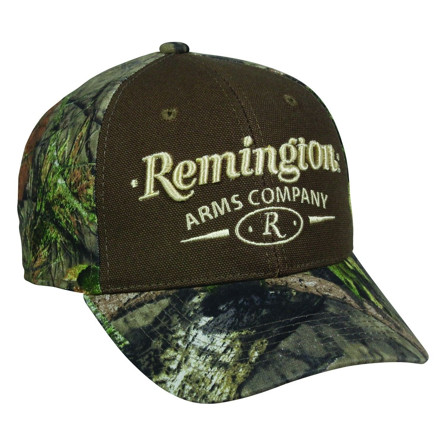 7358eb17d5890 Remington Arms Company Mossy Oak Break Up Country Brown and Tan Camo Cap Hat  158- One Size Fits Most - CD17Z6MUSQD - Hats   Caps