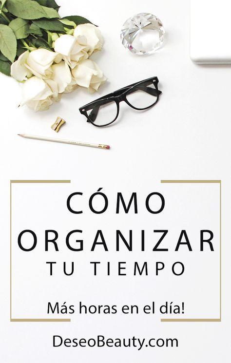 Cómo organizarte para lograr tus objetivos en cualquier