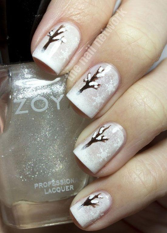 15 cool simple easy winter nail art designs ideas 20122013 - Nail Design Ideas 2012