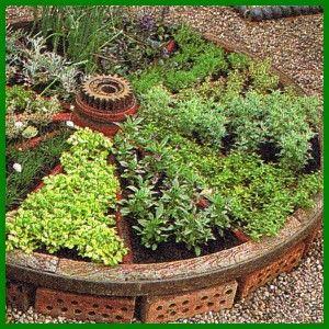 Krauter Rad Garten Garten Hochbeet Garten Pflanzen