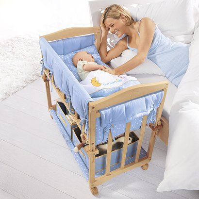 Petit lit « 4 en 1 » avec gigoteuse Beistellbett