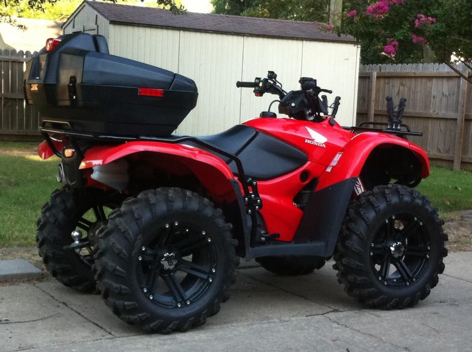 Four Wheelers With Rims : Four wheeler tires for honda rancher nice wheels and