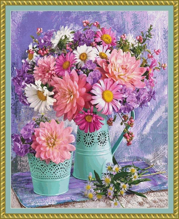 Best Sellers The Cross Stitch Studio Floral Vibrant