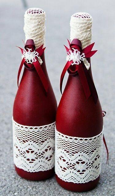pin von klara auf flaschen botellas botellas decoradas und decoraci n de botellas. Black Bedroom Furniture Sets. Home Design Ideas
