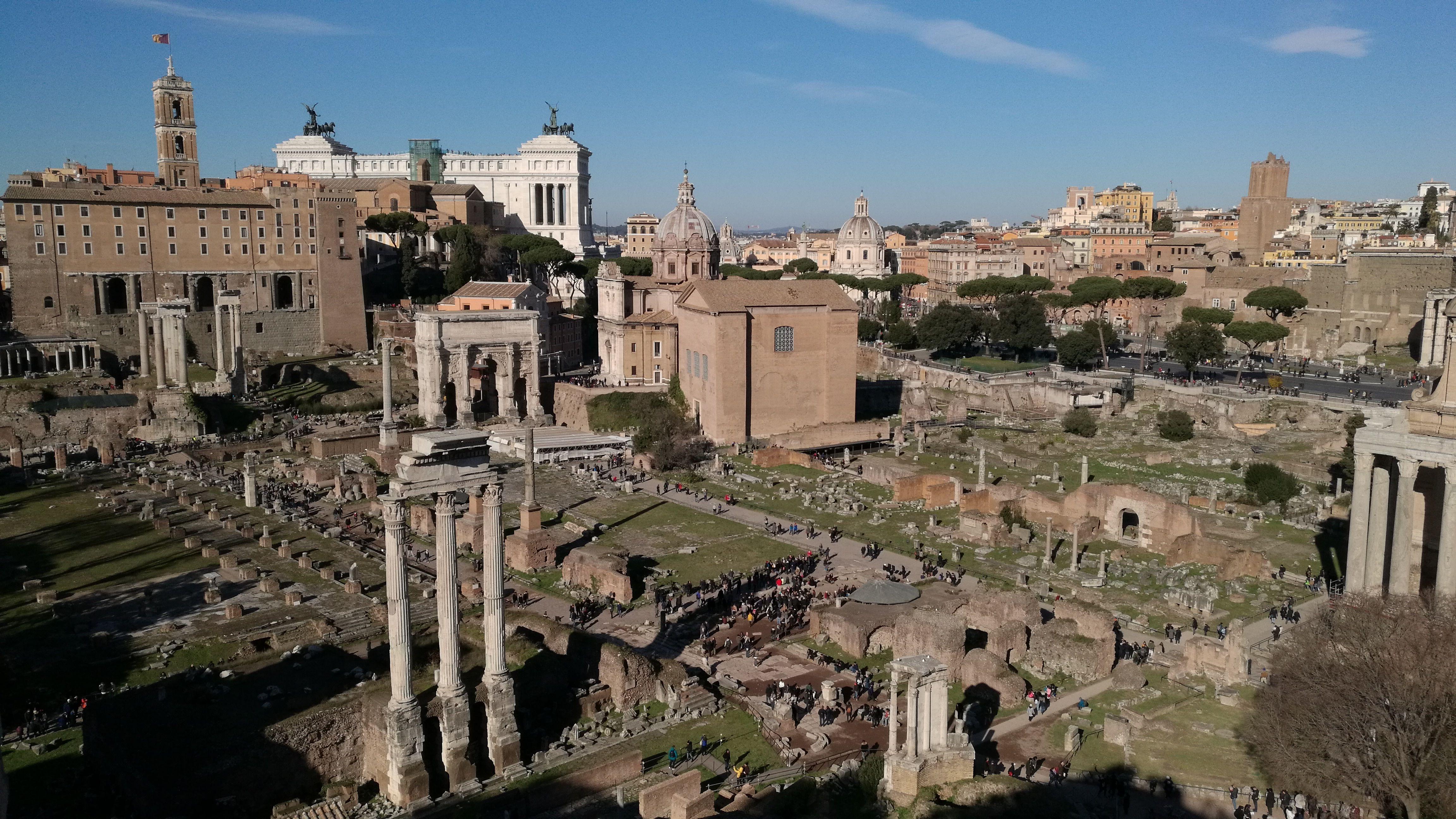 Esto fue Roma, la primera, a los pies del monte Palatino