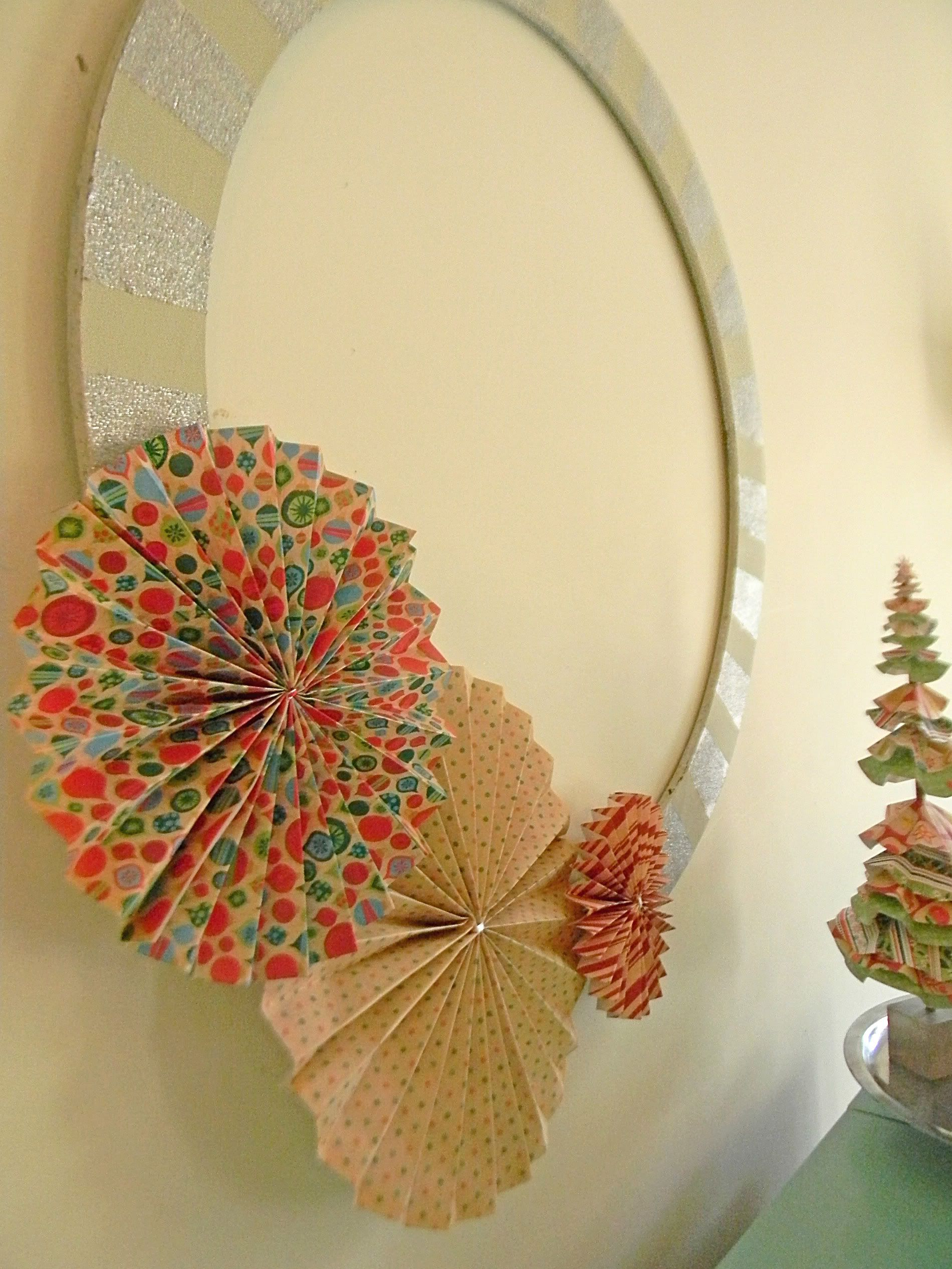 Image result for Fan wreath