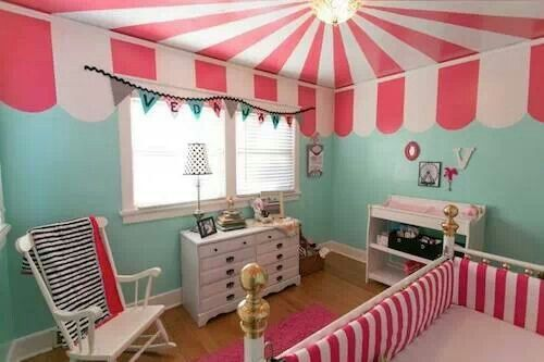 Kids Room Circus Paint This Gives Me So Many Ideas For Ceiling