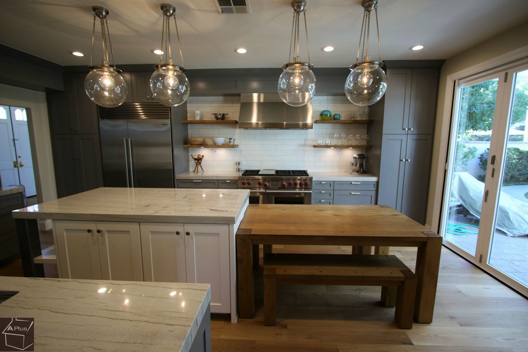 Aplus Interior Design Remodeling Kitchen Remodel Industrial