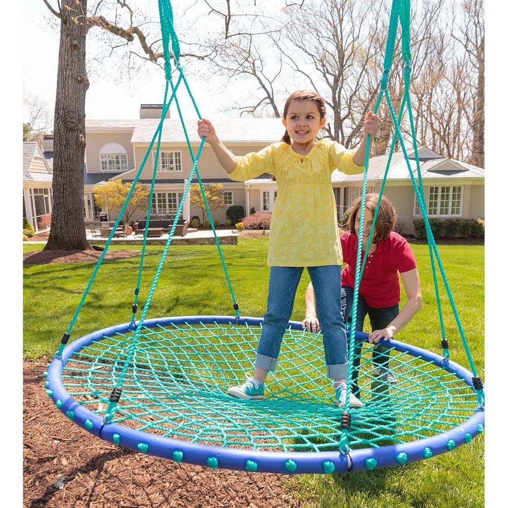 Sky Island 5' Diameter Platform Swing For Kids Outdoor ...