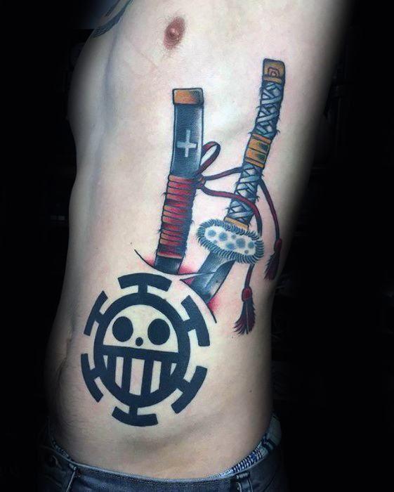 One Piece Hand Tattoo: 70 One Piece Tattoo Designs For Men