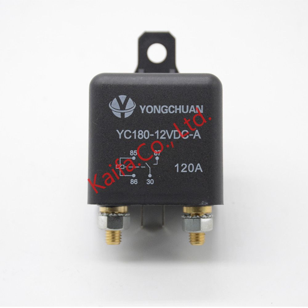 Car Truck Motor Automotive high current relay 12V 120A 24W