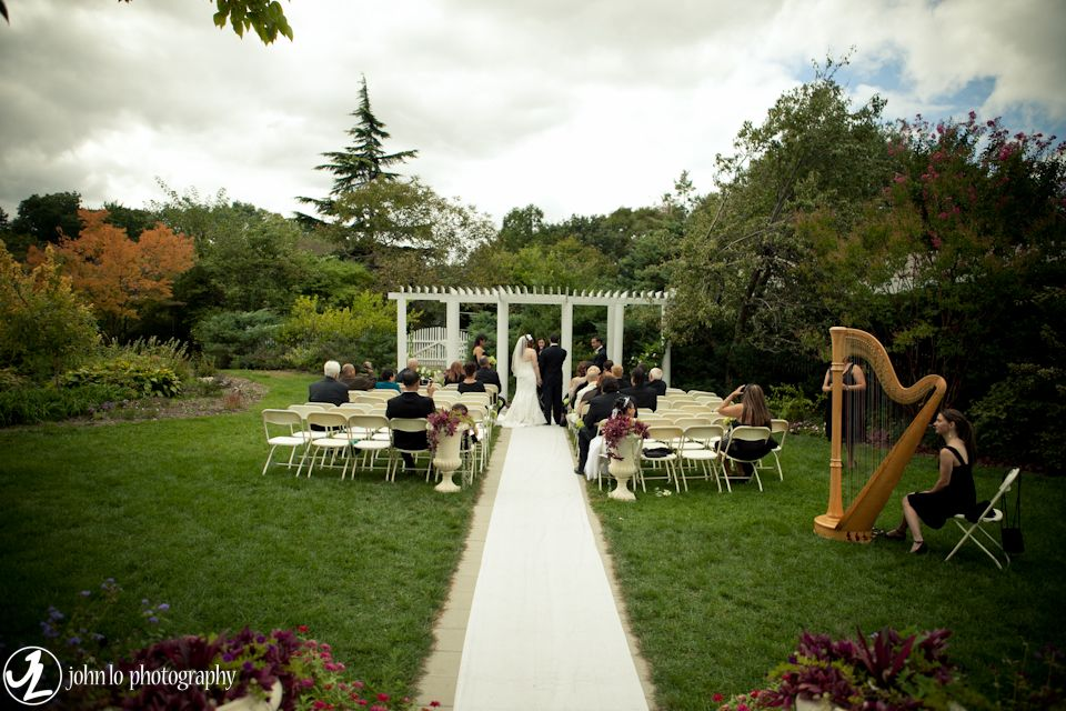 Wedding At The Queens Botanical Garden Gardens My Dream