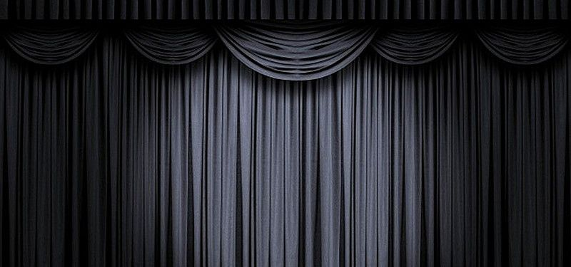 Black Theater Curtain Background Theatre Curtains Curtains Black Curtains