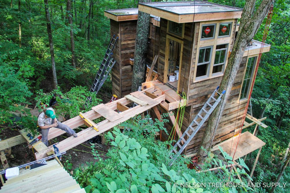 nashville-treehouse | Tree Houses | Tree house designs