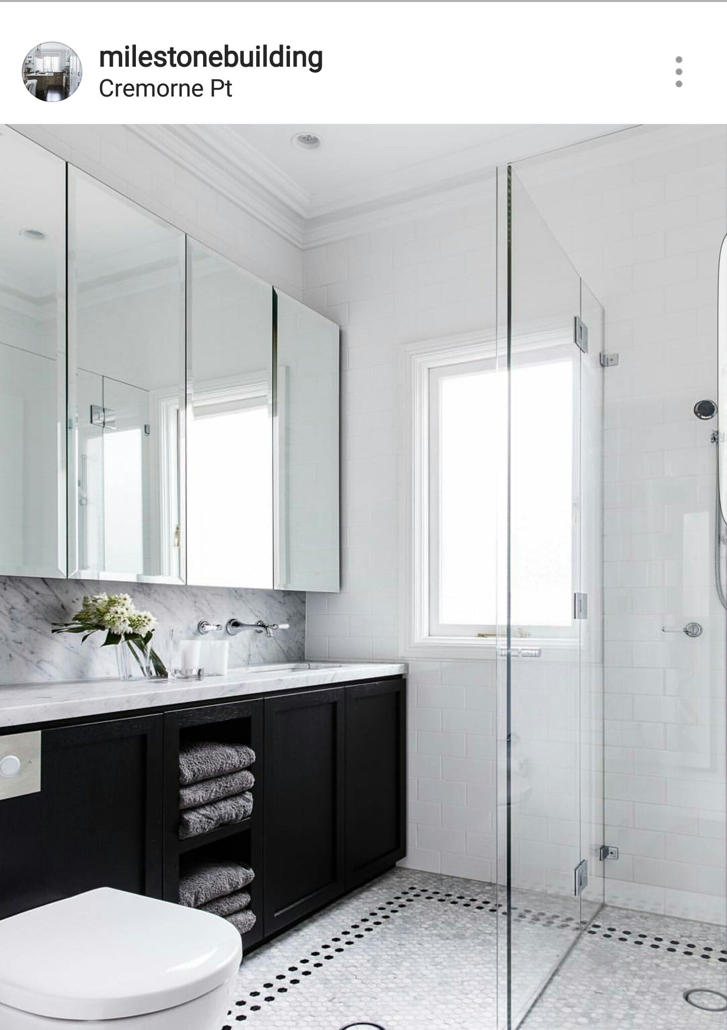 The mirrors. The marble. The traditional tapware. Classic | Bathroom ...