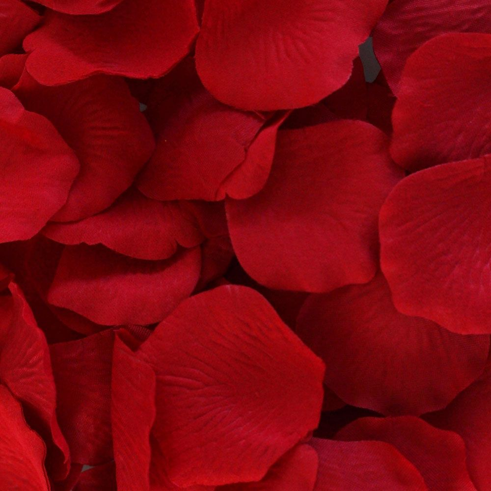 Bag of 100 silk petals in red 175 225 red rose petals rose silk rose petals in red 100 piece bag mightylinksfo Image collections