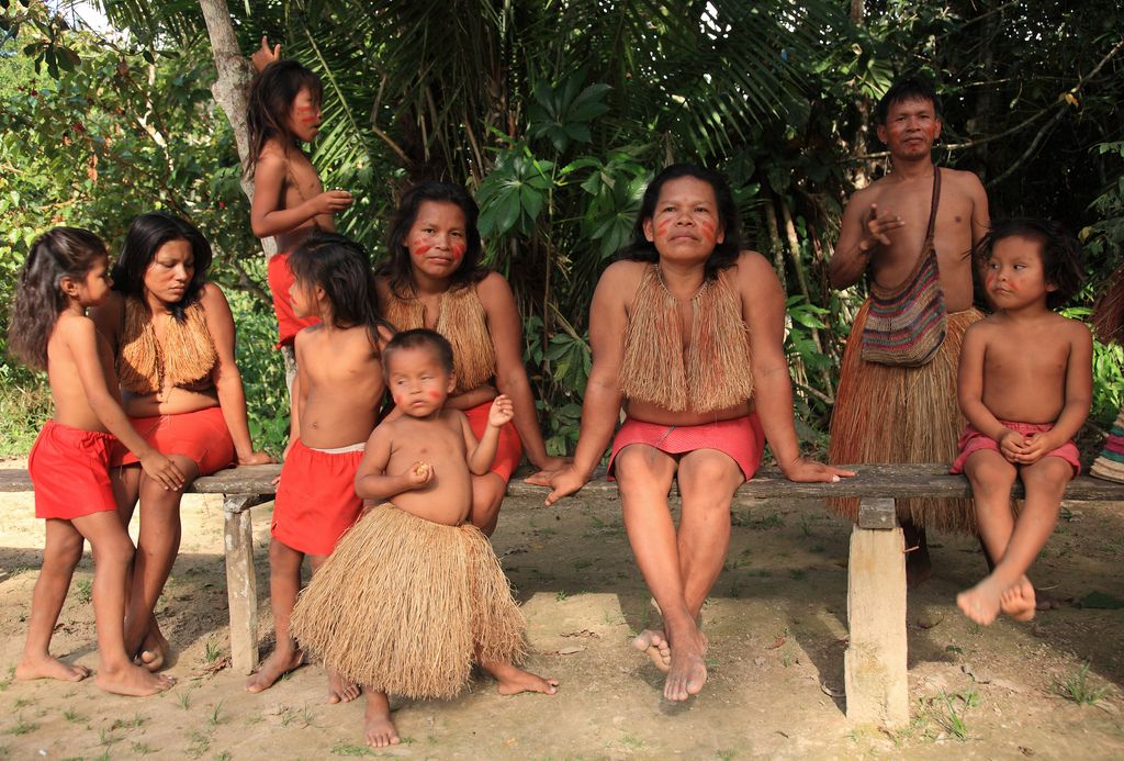 The Yaguas: Indians of the Red Straw | Amazons, Rainforests and D