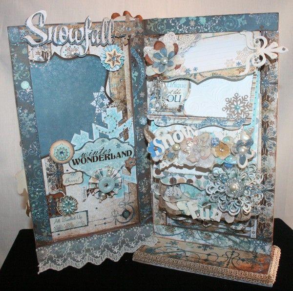 bo bunny snowfall mini album