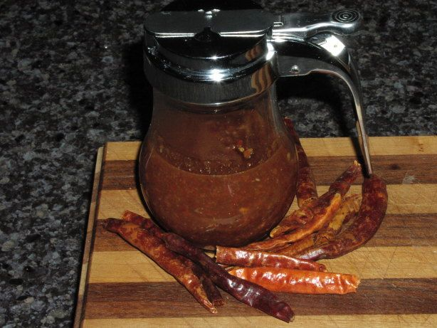 This sauce is really hot, but the sweetness plays off the heat very well. Use as a general condiment like Thai Sriracha sauce.