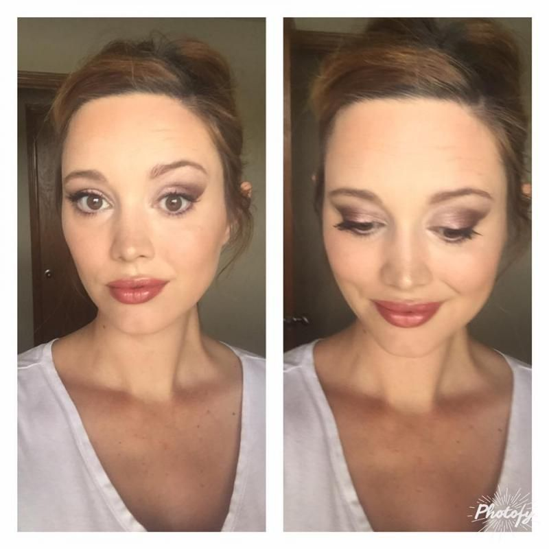 Younique by Lacie Marshall Daytime smokey eye, Younique