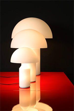 Vico Magistretti Tra I Suoi Piu Famosi Lavori Ricordiamo La Lampada Atollo Oluce 1977 Lampade Lampada Vintage Illuminazione