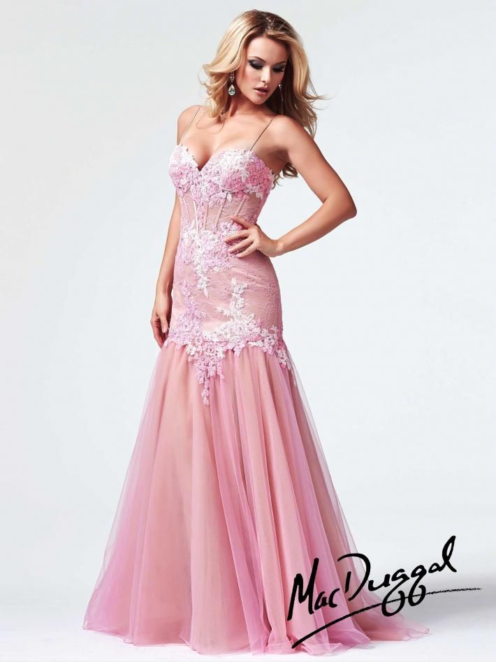 Baby Pink Corset Prom Dress | Mac Duggal 10000M | Dresses ...